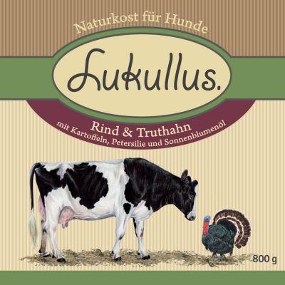 Lukullus Rund  & Kalkoen Hondenvoer