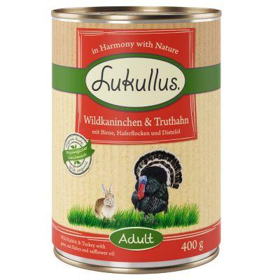 Lukullus Wildkaninchen & Truthahn