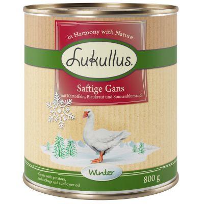 Lukullus Winter-Menu: Sappige Gans