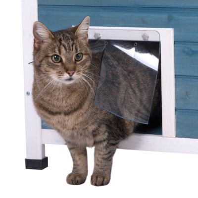 maisonnette d 39 ext rieur pour chat maisonnette penthouse pour chat. Black Bedroom Furniture Sets. Home Design Ideas