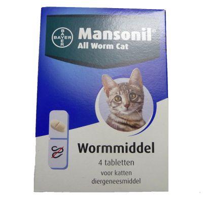 Mansonil All Worm Cat Tabletten