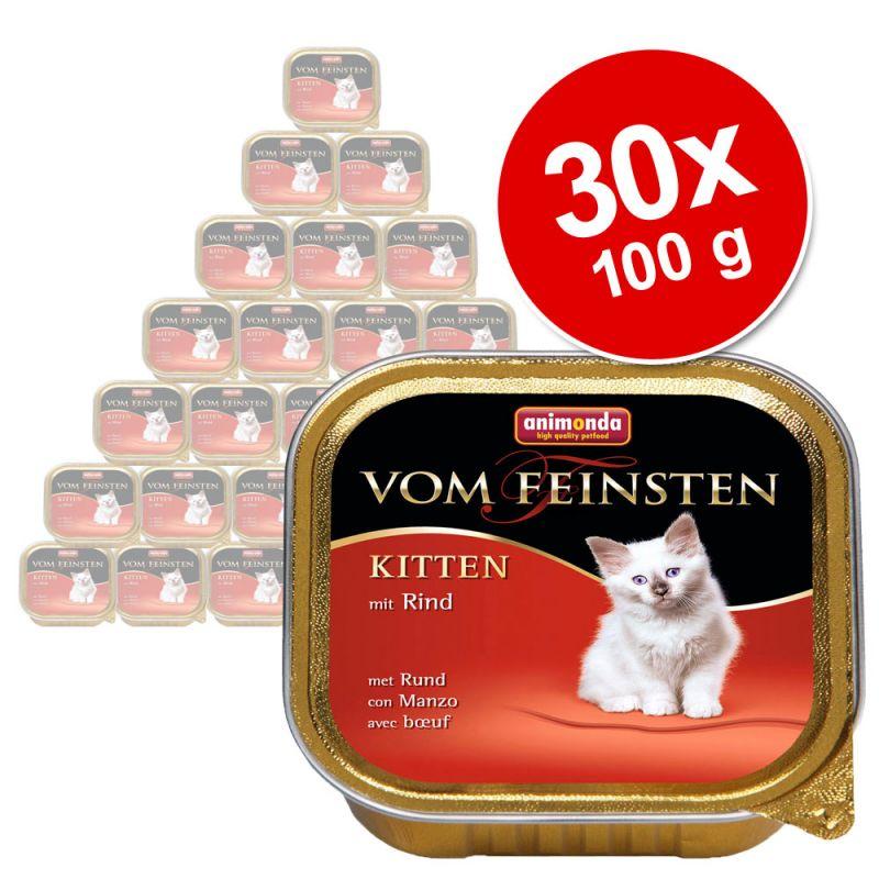 megapakiet animonda vom feinsten kitten 30 x 100 g tanio w zooplus. Black Bedroom Furniture Sets. Home Design Ideas