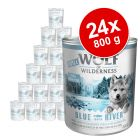 Megapakiet Little Wolf of Wilderness Junior, 24 x 800 g