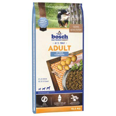 Mieszany pakiet próbny Bosch Adult, 4 x 1 kg