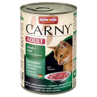 Mix Sparpaket Animonda Carny Adult 12 x 400 g