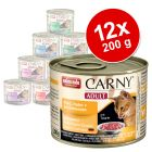 Mix Sparpaket  Animonda Carny 12 x 200 g