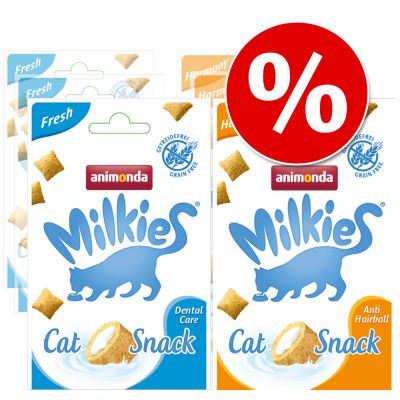 Mixed Pack Animonda Milkies Knuspertaschen