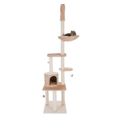 Natural Home V Ceiling Cat Tree Free P Amp P 163 29 At Zooplus