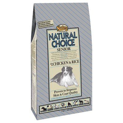 Nutro Choice Senior Kip & Rijst Hondenvoer