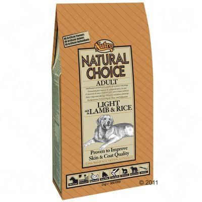 Nutro Natural Choice Adult Light Cordero y arroz