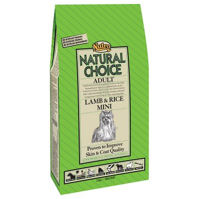 Nutro Natural Choice Adult Mini Cordero y arroz