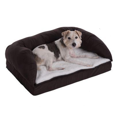 orthop disches hundebett eckig. Black Bedroom Furniture Sets. Home Design Ideas