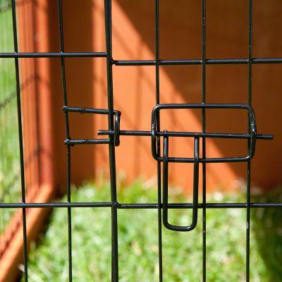 Outback Kaninchenstall Kompakt mit Freigehege