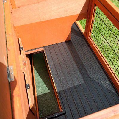 Outback Kompakt zajčnik s prostorom za izhod