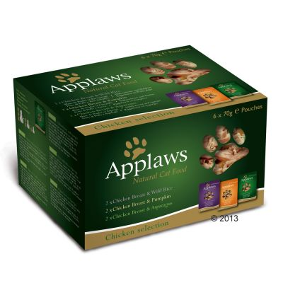 Pacco misto Applaws Buste in Brodo 12 x 70 g