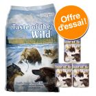 Pack Gourmand : croquettes + boîtes Taste of the Wild