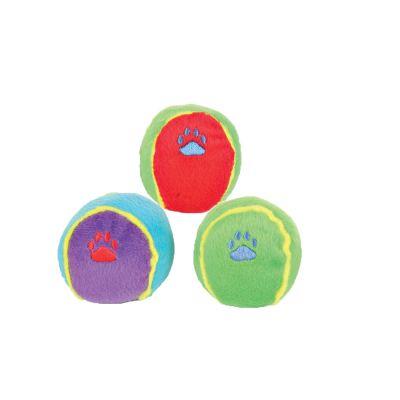 Palle gioco per cani Trixie colorate in peluche