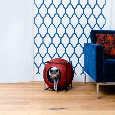 le cube meyou argile panier pour chat zooplus. Black Bedroom Furniture Sets. Home Design Ideas