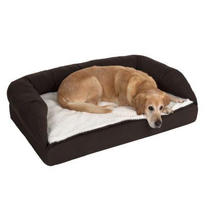 Panier orthopédique marron pour chien