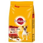 Pedigree Adult Mini < 10 kg bœuf, légumes pour chien