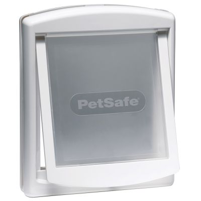 Porta basculante staywell 740 760 zooplus for Porta basculante per cani grandi con microchip