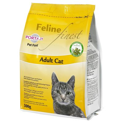 Great Deals On Cat Food At Zooplus Porta Feline Finest Adult Cat - Porta 21