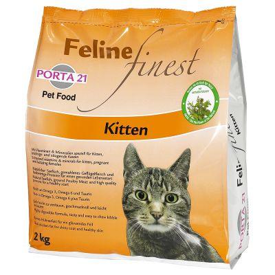 Porta Feline Finest Kitten Great Deals At Zooplus - Porta 21