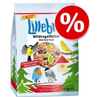 Prezzo speciale! 20 kg Lillebro Cibo per uccelli selvatici