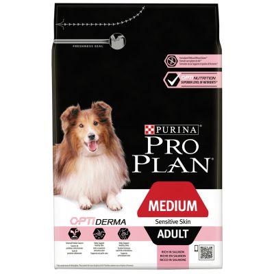 Pro Plan Medium Adult Optiderma - Zalm & Rijst
