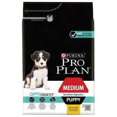 Pro Plan Medium Puppy Optidigest - Kip & Rijst