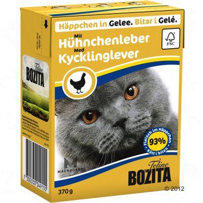 Probierpaket Bozita Häppchen 6 x 370 g