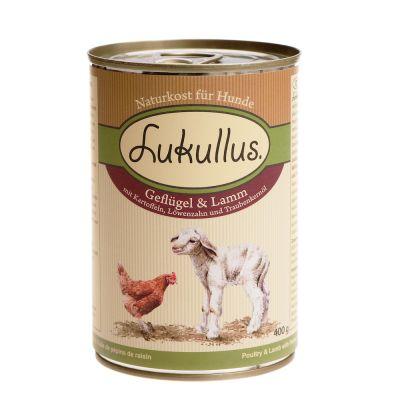 Probierpaket Lukullus, Terra Canis und Hermann's je 2 x 400 g