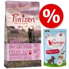 Probierset Kitten: Purizon 400 g & Feringa Kitten Milky Snacks 30 g