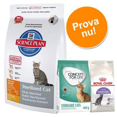 kattmat för steriliserade katter
