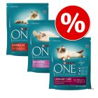 Purina ONE Dry Cat Food Trial Pack 3 x 800g