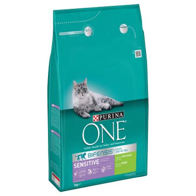 purina one sensitive croquettes pour chat zooplus. Black Bedroom Furniture Sets. Home Design Ideas