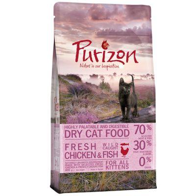 Purizon Kitten, kurczak i ryba