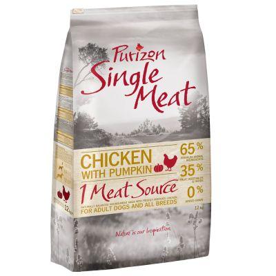 Purizon Single Meat Adult Pollo con zucca - senza cereali