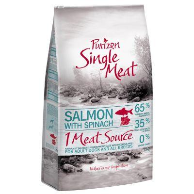 Purizon Single Meat Adult Salmone con spinaci - senza cereali
