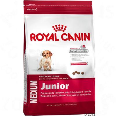 Royal Canin Size + 75 g reine Hirschfleisch-Würstchen gratis!