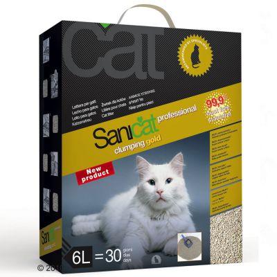 Sanicat Clumping Gold Cat Litter