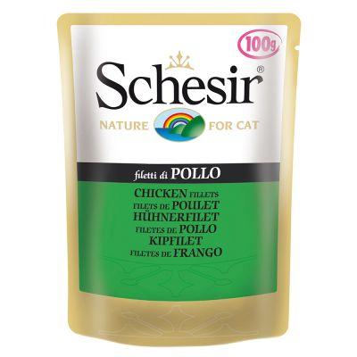 Schesir Adult Pouch 6 x 100g