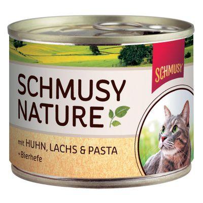 Schmusy Nature in lattina 6 x 190 g