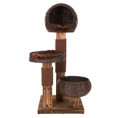 Scorched Wood Cat Tree