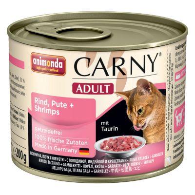 Set prova! Animonda Carny Adult 12 x 200 g