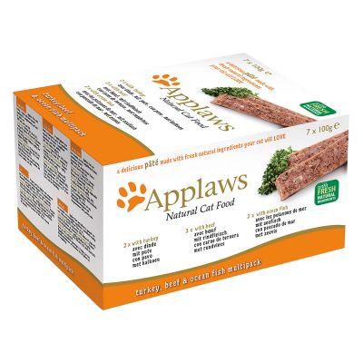 Set prova! Applaws Cat Patè 7 x 100 g