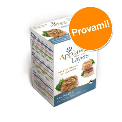Set prova misto Applaws Cat Layer 6 x 70 g