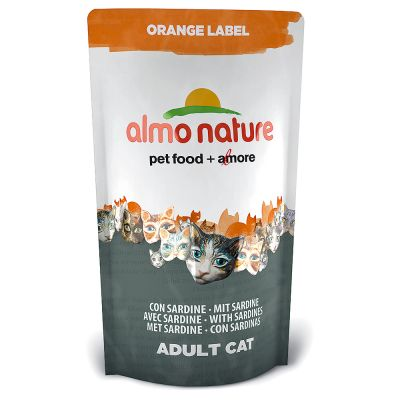Set prova misto! 3 x 750 g Almo Nature Orange Label Adult