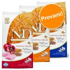 Set prova misto! 3 x 2,5 kg Farmina N&D Low Grain Adult Mini