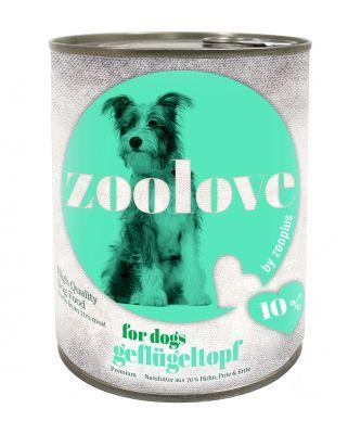 Set prova! zoolove Cibo umido per cani 6 x 800 g